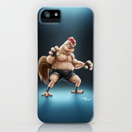 KFC Fighter iPhone Case