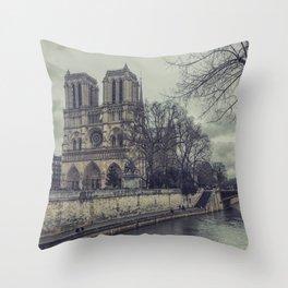 Notre Dame 1 Throw Pillow