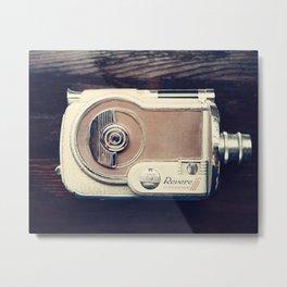 Vintage Revere Movie Camera Metal Print