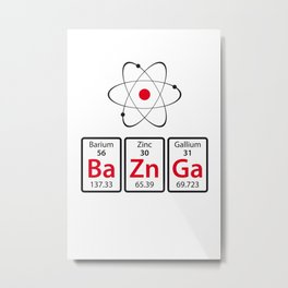 BaZnGa! Metal Print