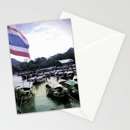 Long-Tail Harbor Stationery Cards