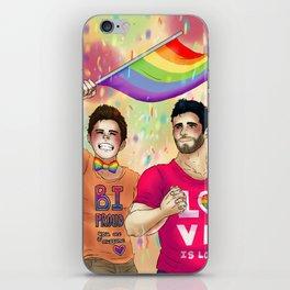 Sterek Pride Print iPhone Skin