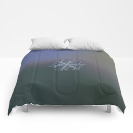 Real snowflake - Hyperion dark Comforters