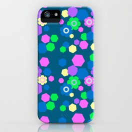 Candy Flowers iPhone Case
