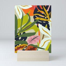 Jungle Abstract 2 Mini Art Print