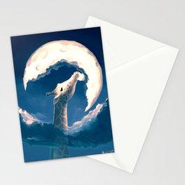 La fable de la girafe Stationery Cards