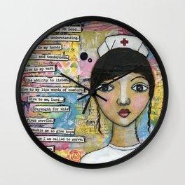 Nurse Wall Clock