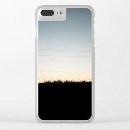 Interstate-5 II Clear iPhone Case