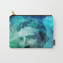 Tribute to Tesla Carry-All Pouch
