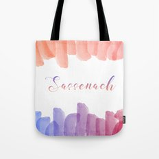Sassenach, Outlander Inspired Tote Bag