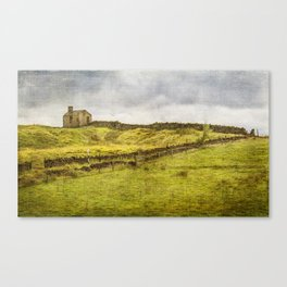 Passing through the Hamlet of Whittaker Canvas Print