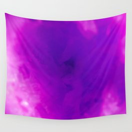 Textures (Purple version) Wall Tapestry