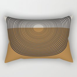 Mid Century Style, Retro  Rectangular Pillow