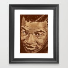 mike Framed Art Print