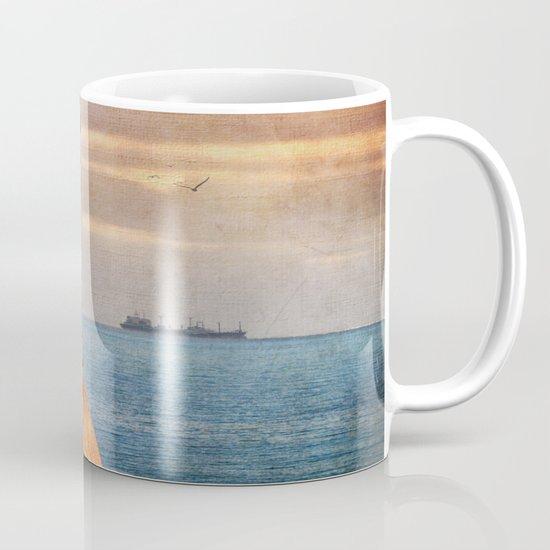 Autumn by the sea Mug
