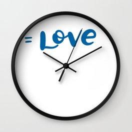 Special Nurses Gift RNA LOve Wall Clock