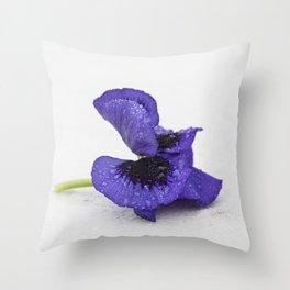 Violet spring dreams Throw Pillow
