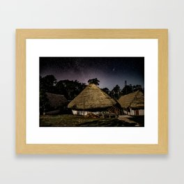 Ayahuasca Meloka Framed Art Print