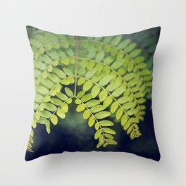 let it grow Throw Pillow