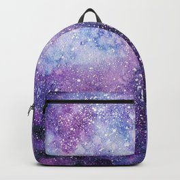 Space. Watercolor Backpack