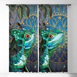 Basilisk Lizard Blackout Curtain