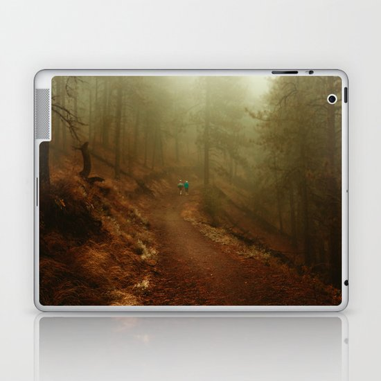 Autumn in Ponderosa Pines Forest Laptop & iPad Skin