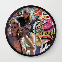 Retro Pop Wall Clock