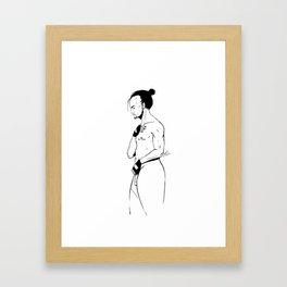 MAN 4 Framed Art Print