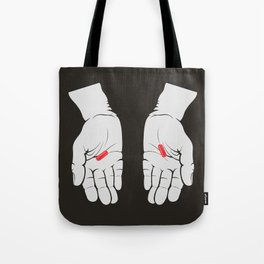 Red Pill, Red Pill Tote Bag