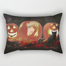 Juggling Halloween Rectangular Pillow