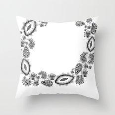 Inner circle Throw Pillow