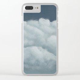 Ceci n'est pas un nuage Clear iPhone Case