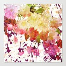sweet spring floral Canvas Print