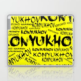 Yellow konyukhov Laptop & iPad Skin