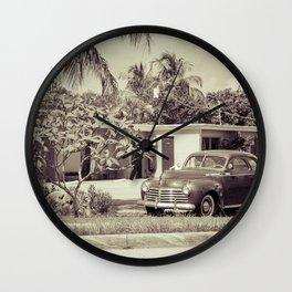1941 Chrysler Wall Clock