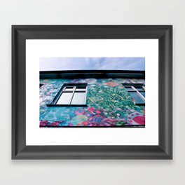 Graffiti Feast Framed Art Print