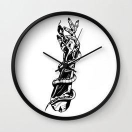 Robotic Arm Wall Clock