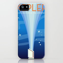 Kepler - Exploration of the Universe iPhone Case