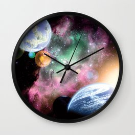 Dawn Sisters Wall Clock