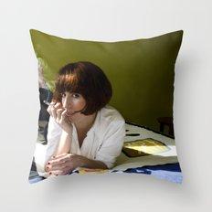 Mia, Pulp Fiction Throw Pillow