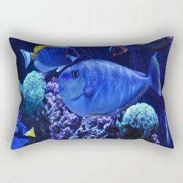 Tropical Fish Rectangular Pillow