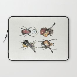 Meet the Beetles (white option) Laptop Sleeve
