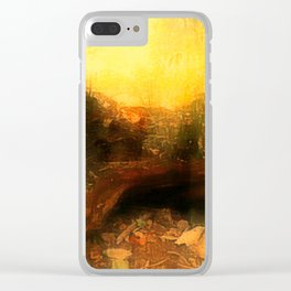 A Gloom of Shades Clear iPhone Case