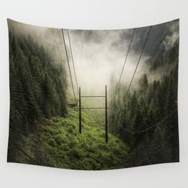 Porcupine Saddle Wall Tapestry