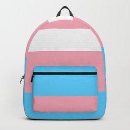 Transgender pride flag Backpack