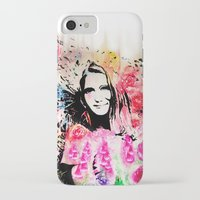 emily rickard iPhone & iPod Cases featuring Emily by Michael Egorkin