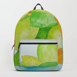 Lime Bowl Backpack
