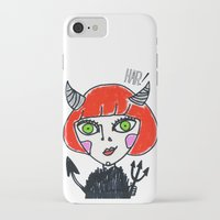 evil iPhone & iPod Cases featuring Evil by Amy Lee