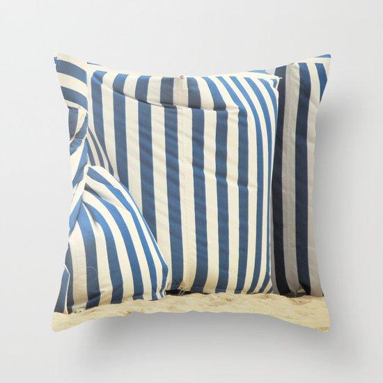 In The Beach Throw Pillow