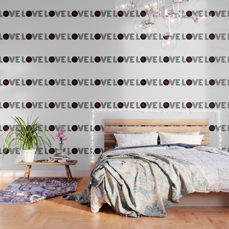 Vinyl Record Love Wallpaper By Society6comanastasia Society6
